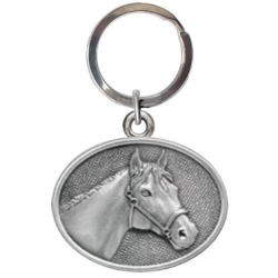 Racehorse Key Chain