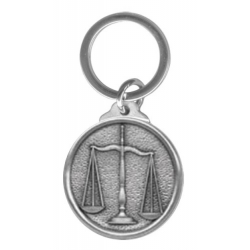 Law - Scales of Justice Key Chain