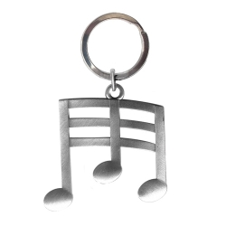 Musical Notes Key Chain