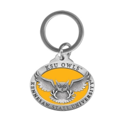 Kennesaw State University Key Chain - Enameled