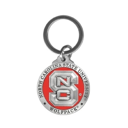 NC State University Key Chain - Enameled