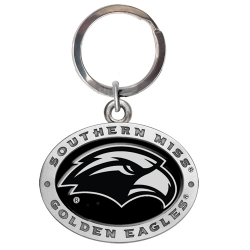 University of Southern Mississippi Key Chain - Enameled