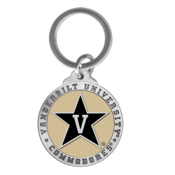 Vanderbilt University Key Chain - Enameled