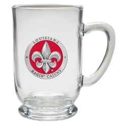 Louisiana at Lafayette Clear Coffee Cup - Enameled
