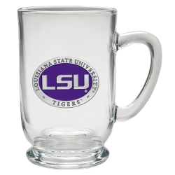 Louisiana State University Clear Coffee Cup - Enameled