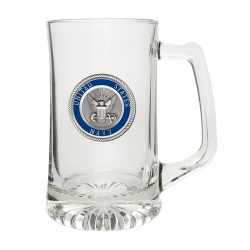Navy Super Stein - Enameled