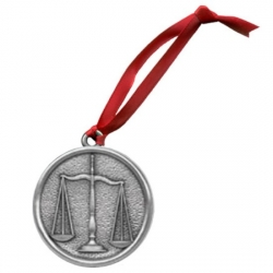 Law - Scales of Justice Ornament