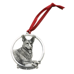 German Shepherd Ornament