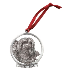 Lhasa Apso Ornament