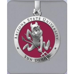 "ASU ""Sparky"" Ornament - Enameled"