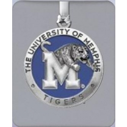 University of Memphis Ornament - Enameled