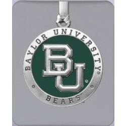 Baylor University Ornament - Enameled
