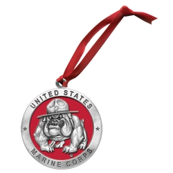 "Marine Corps ""Bulldogs"" Ornament"