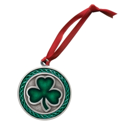 Clover Ornament - Enameled