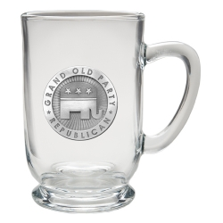 Republican Clear Coffee Cup