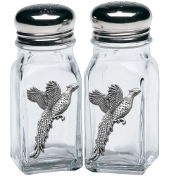 Pheasant Salt and Pepper Shaker Set