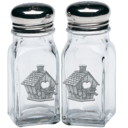 Birdhouse Salt and Pepper Shaker Set