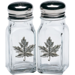 Maple Salt and Pepper Shaker Set