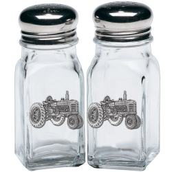 Tractor Salt and Pepper Shaker Set