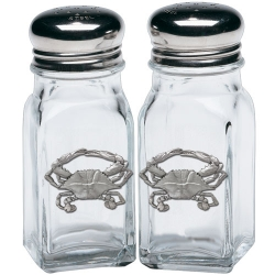 Blue Crab Salt and Pepper Shaker Set