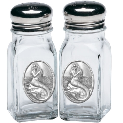 Mermaid Salt and Pepper Shaker Set
