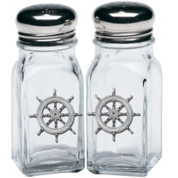 Ship Wheel Salt and Pepper Shaker Set