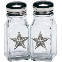Lone Star Salt and Pepper Shaker Set