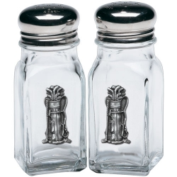 Golf Bag Salt and Pepper Shaker Set