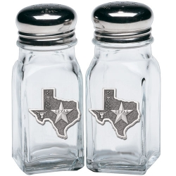 Texas Salt and Pepper Shaker Set
