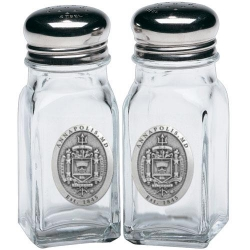 "Naval Academy ""Crest"" Salt and Pepper Shaker Set"