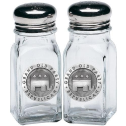 Republican Salt and Pepper Shaker Set
