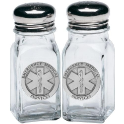EMS Salt and Pepper Shaker Set