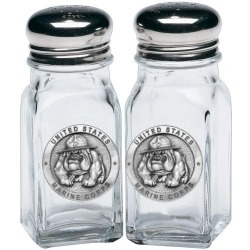 "Marine Corps ""Bulldogs"" Salt and Pepper Shaker Set"