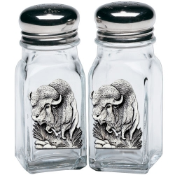 Buffalo Salt and Pepper Shaker Set