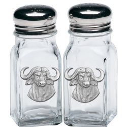 Cape Buffalo Salt and Pepper Shaker Set