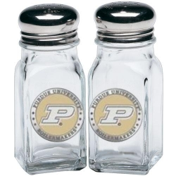 Purdue University Salt and Pepper Shaker Set - Enameled