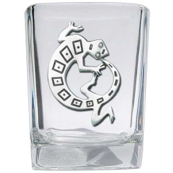 Lizard Square Shot Glass
