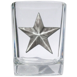 Lone Star Square Shot Glass