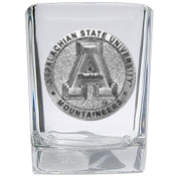 Appalachian State University Square Shot Glass