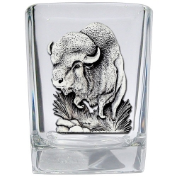 Buffalo Square Shot Glass