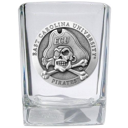 East Carolina University Square Shot Glass