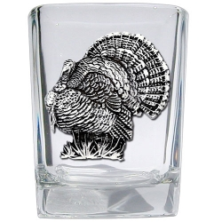 Turkey Square Shot Glass