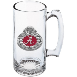 2012 BCS National Champions Alabama Crimson Tide Super Stein - Enameled