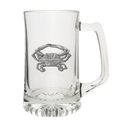 Blue Crab Super Stein