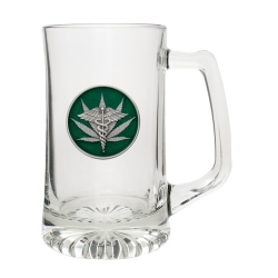 Marijuana #2 Super Stein - Enameled