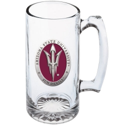 "ASU ""Pitchfork"" Super Stein - Enameled"