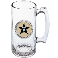 Vanderbilt University Super Stein - Enameled