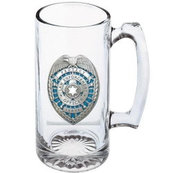 Law Enforcement Super Stein - Enameled