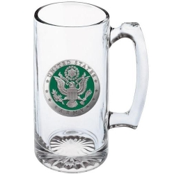 Army Super Stein - Enameled