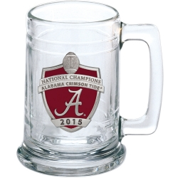 2015 CFP National Champions Alabama Crimson Tide Stein - Enameled